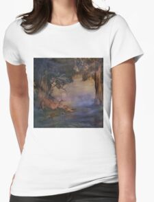 Fantasy Forest 4 Womens Fitted T-Shirt