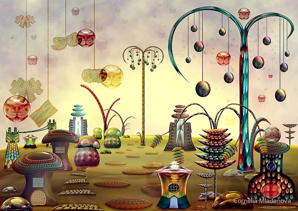Village  by Cornelia Mladenova
