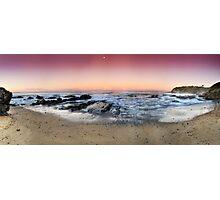 orange sunset-Red head-NSW Mid North Coast Photographic Print