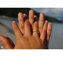 Will you? Photographic Print