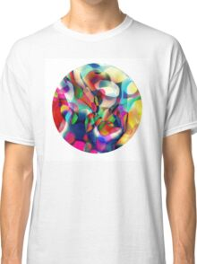 Psychedelic Circle Classic T-Shirt