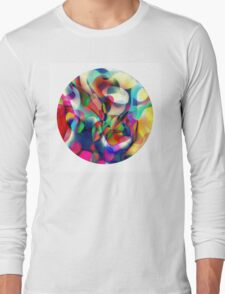 Psychedelic Circle Long Sleeve T-Shirt