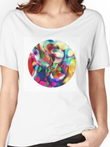 Psychedelic Circle Women's Relaxed Fit T-Shirt