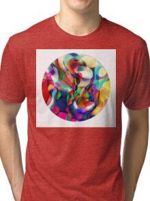 Psychedelic Circle Tri-blend T-Shirt