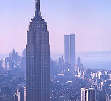 Empire State Building, New York, USA, 1972 by johnrf