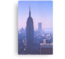 Empire State Building, New York, USA, 1972 Canvas Print