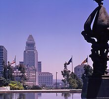 City Hall, Los Angeles, California, USA, 1972 by johnrf
