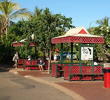 Even Broome's bus stops are colourful by georgieboy98