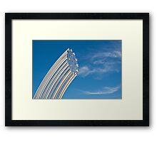 Gleaming Sculpture Framed Print