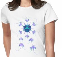 Neethling Bug with Anti-Virus Womens Fitted T-Shirt