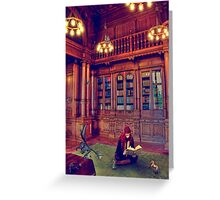 The Storyteller Greeting Card