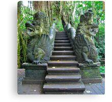 Dragon Stairs... Canvas Print