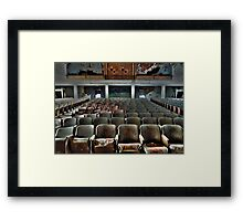 Performers View Framed Print