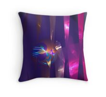 blades and shades Throw Pillow