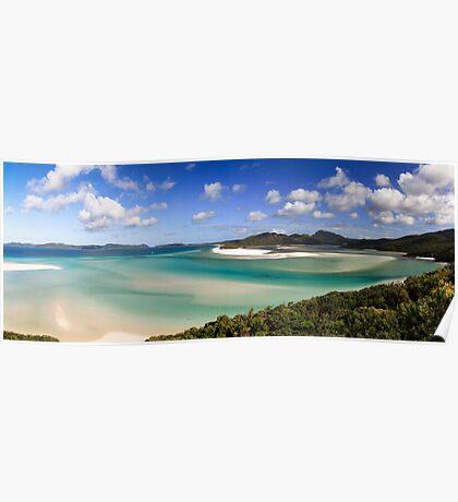 Whitehaven beach panorama Poster