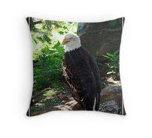 GREAT BIRD Throw Pillow