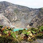 Volcan Irazu (Costa Rica) #1 by Esperanza Gallego