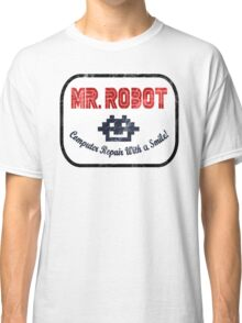 Mr Robot - Computer Repair With A Smile Classic T-Shirt