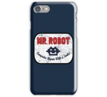 Mr Robot - Computer Repair With A Smile iPhone Case/Skin