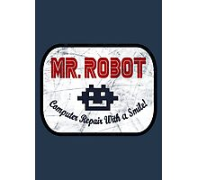 Mr Robot - Computer Repair With A Smile Photographic Print