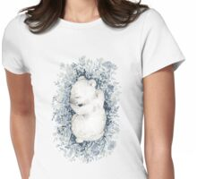 Polar Slumber Womens Fitted T-Shirt