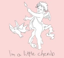 Little Cherub by Amanda Latchmore
