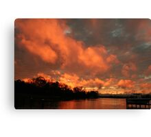 Sunset #4 Canvas Print