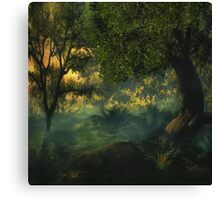 Fantasy Forest 5 Canvas Print
