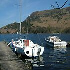 BOATS ON ULLSWATER by LAWSON TAYLOR