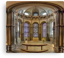 Chapel of Saints and Martyrs of Our Own Time, Canterbury Cathedral, England Canvas Print