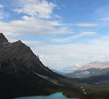 peyto lake ,canada by milena boeva