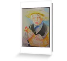 My Pet Chicken Greeting Card