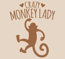 Crazy Monkey Lady by jazzydevil