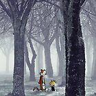 Calvin and Hobbes Winter by bassesafari