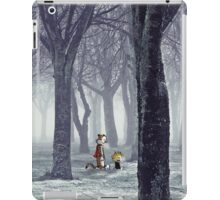 Calvin and Hobbes Winter iPad Case/Skin