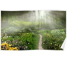 Meadow Trail Poster