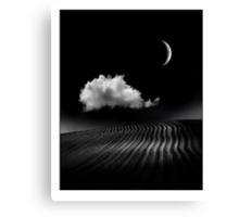 The Crescent Moon Canvas Print