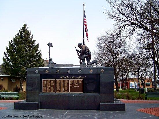 Veteran's Memorial - Depot Park by rocamiadesign