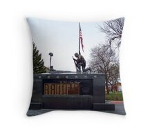 Veteran's Memorial - Depot Park Throw Pillow