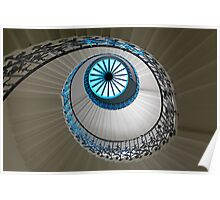 tulip staircase Poster
