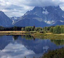 teton mountain by milena boeva