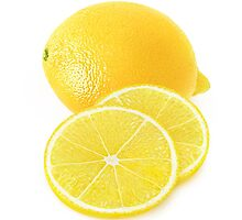 Lemon with slices by 6hands