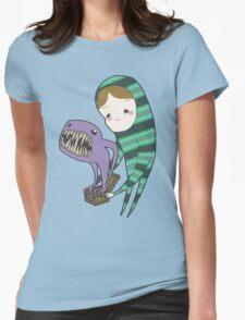 Pandora's Lunchbox Womens Fitted T-Shirt