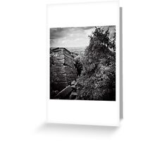 Ice Age Aztec Dreaming Greeting Card