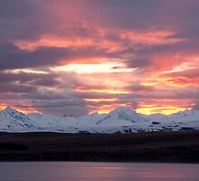 Tekapo Sunset by NolsNZ
