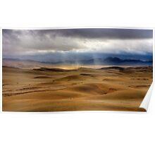 Rain in the Namib Poster