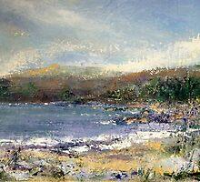 towards the scottish highlands- storm brewing by christine vandenhaute