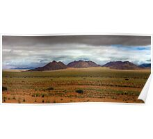 Storm over the Namib Poster