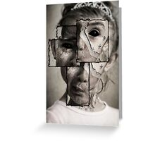 Twisted Reality Greeting Card