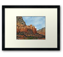 Monuments Framed Print